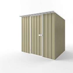 EasyShed Colour Skillion Roof Garden Shed Medium Garden Sheds 2.25m x 1.90m x 2.10m ESS2319